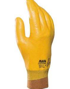 دستکش ایمنی مخصوص کارهای نیمه سنگین MAPA_Dexilite 383